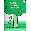 photo de SICILIANO / MA 2EME ANNEE DE FORMATION MUSICALE Editions H CUBE droite