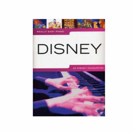 REALLY EASY PIANO / DISNEY Editions WISE PUBLICATIONS droite
