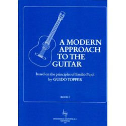 TOPPER / A MODERN APPROACH TO THE GUITAR VOL 1 HEXAMUSIC
