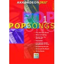 photo de AKKORDEON PUR / POPSONGS VOL 1 PARTITION dessus