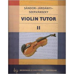 SANDOR / METHODE DE VIOLON 4B PARTITION