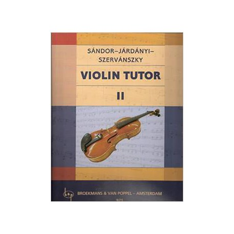 SANDOR / METHODE DE VIOLON 4B PARTITION dessus
