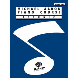 AARON PIANO COURSE TECHNIC GRADE 1 Editions ALFRED PUBLISHING