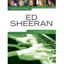 photo de ED SHEERAN REALLY EASY PIANO SOLO 18 SONGS Editions MUSIC SALES arriere