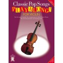 photo de PLAYALONG CLASSIC POP SONGS VIOLIN CD Editions CHESTER MUSIC face