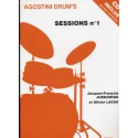 photo de SESSIONS N°1 ( system Drum1)Juskoviak/LacauCD(Agostini Drum CARISCH arriere