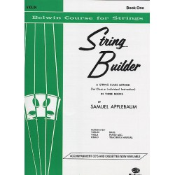 STRING BUILDER VIOLIN BK.1 Editions ID MUSIC droite