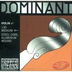 CORDES VIOLON 3/4 DOMINANT 135 MEDIUM JEU COMPLET THOMASTIK