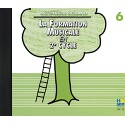 photo de FORMATION MUSICALE EN 2EME CYCLE VOL 6 CD Editions HENRY LEMOINE dessus