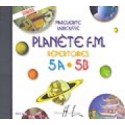 photo de CD/ LABROUSSE/ PLANETE FM 5A 5B CD ECOUTES Editions HENRY LEMOINE gauche