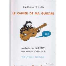 Le Cahier de ma Guitare Editions International Music Diffusion