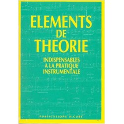 ELEMENTS DE THEORIE Editions H CUBE droite