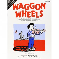WAGGON WHEELS BOOK et CD Editions BOOSEY and HAWKES face