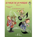 photo de LA MAGIE DE LA MUSIQUE VOL 3 Editions HENRY LEMOINE arriere