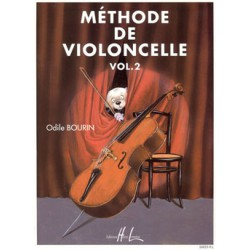 METHODE DE VIOLONCELLE VOL 2 Editions HENRY LEMOINE droite
