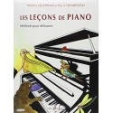 photo de LES LECONS DE PIANO Editions HENRY LEMOINE droite