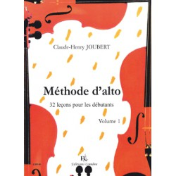 METHODE D ALTO VOL 1 Editions COMBRE dessus