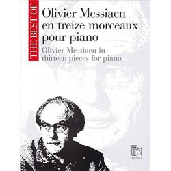 BEST OF 13 PIECES POUR PIANO Editions DURAND gauche