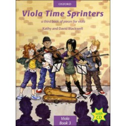VIOLA TIME SPRINTER Editions OXFORD ABRSM