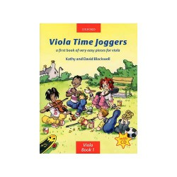 VIOLA TIME JOGGERS Editions OXFORD ABRSM gauche