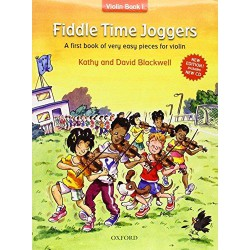 FIDDLE TIME JOGGERS + CD Editions OXFORD ABRSM