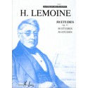 photo de Etudes Faciles (50) Op.37 Editions HENRY LEMOINE dessus