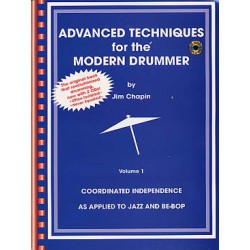 ADVANCED TECHNIQUES FOR THE MODERN DRUMMER + 2 CD Editions ALFRED PUBLISHING droite