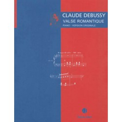 Valse romantique Editions JOBERT