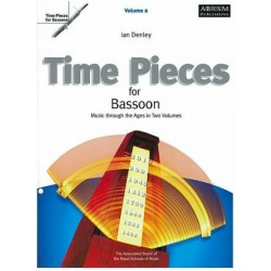 TIME PIECES FOR BASSON VOL 2 Editions ASS BOARD ROYAL SCHOOLS gauche