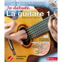 photo de JE DEBUTE LA GUITARE VOL 1 NOUVELLE EDITION et CD HIT DIFFUSION gauche