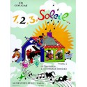 photo de 1 2 3 SOLEIL DE L INITIATION A LA FM VOL 2 ELEVE et 2 CD Editions ALPHONSE LEDUC arriere