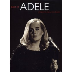 ADELE BEST OF PVG Nouvelle Edition Editions MUSIC SALES face