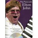 photo de PLAY PIANO WITH ELTON JOHN Editions MUSIC SALES dessus