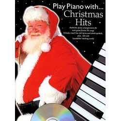 PLAY PIANO WITH CHRISTMAS HITS Editions MUSIC SALES
