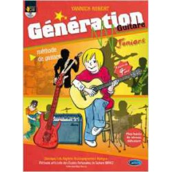 GENERATION GUITARE JUNIOR + CD CARISCH face