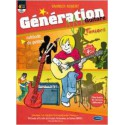 photo de GENERATION GUITARE JUNIOR + CD CARISCH face