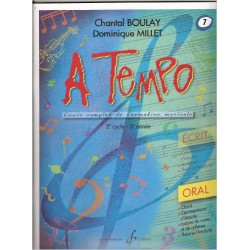 A TEMPO ORAL VOL 7 Editions GERARD BILLAUDOT cote