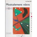 photo de MUSICALEMENT VOTRE VOL 1 ACCOMPAGNEMENT PROF Editions GERARD BILLAUDOT arriere