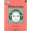photo de 99 TESTS D ECOUTE VOL 4 et CD Editions HENRY LEMOINE cote