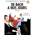 photo de CD / DE BACH A NOS JOURS VOL 1B Editions HENRY LEMOINE dessus