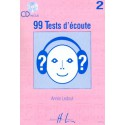 photo de 99 TESTS D ECOUTE VOL 2 et CD Editions HENRY LEMOINE arriere