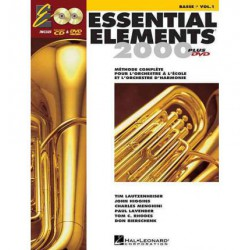 Essential Elements 2000, Book 1 - BB Tuba T.C. : French Edition Editions HAL LEONARD