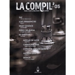 LA COMPIL NUMERO 05 PVG ET TAB Editions AEDE MUSIC