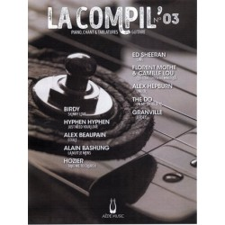 LA COMPIL NUMERO 03 PVG ET TAB Editions AEDE MUSIC