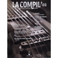LA COMPIL NUMERO 02 PVG ET TAB Editions AEDE MUSIC