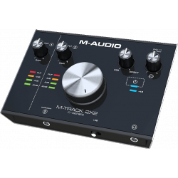 MTRACK2X2 M-AUDIO arriere