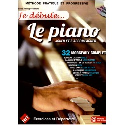 JE DEBUTE LE PIANO ET CD HIT DIFFUSION