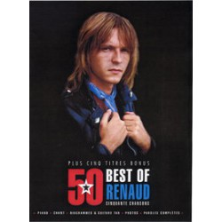 RENAUD 50 BEST OF+ 5 Titres bonus PVG ET TAB Editions BOOKMAKERS