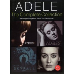 ADELE COMPLETE COLLECTION Album 19,21,25 Skyfall etc.. PVG Editions WISE PUBLICATIONS