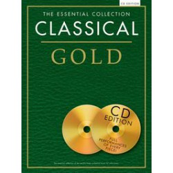 CLASSICAL ESSENTIAL GOLD 2CD PARTITION